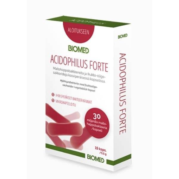Acidophilus Forte 15 kaps - Biomed