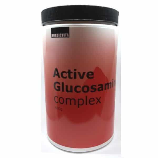 Active Glucosamin complex 400g - Nordicvita