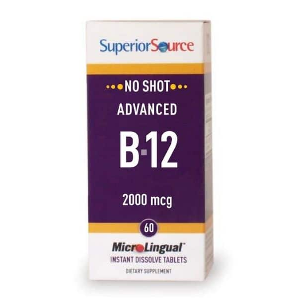 Advanced B12 2000µg 60 tabl - Futmed