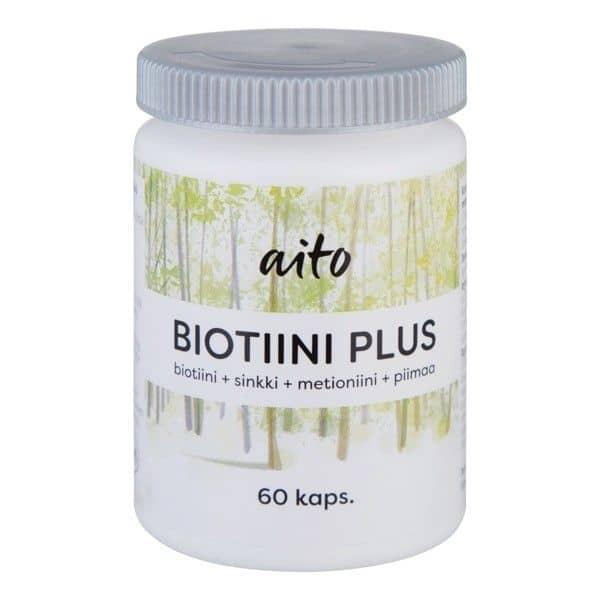 Aito Biotiini plus 60 kapselia
