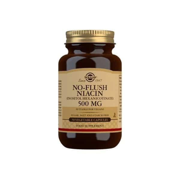 Solgar No-flush niacin 500 mg 50 caps