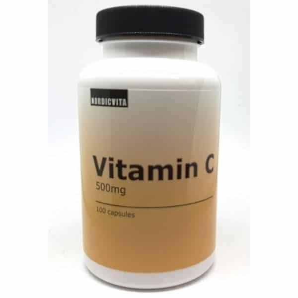 C-vitamiini 500mg 100 kaps - Nordicvita