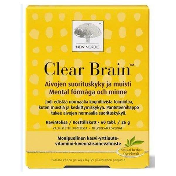 Clear Brain 60 tbl - New Nordic
