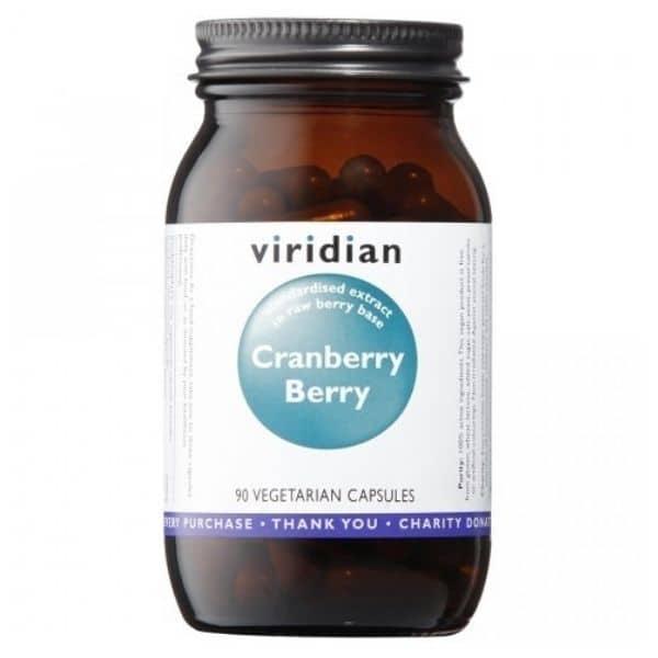 Viridian Cranberry berry 30kaps.