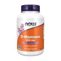 D-Mannoosi 500mg 120 kaps – Now Foods