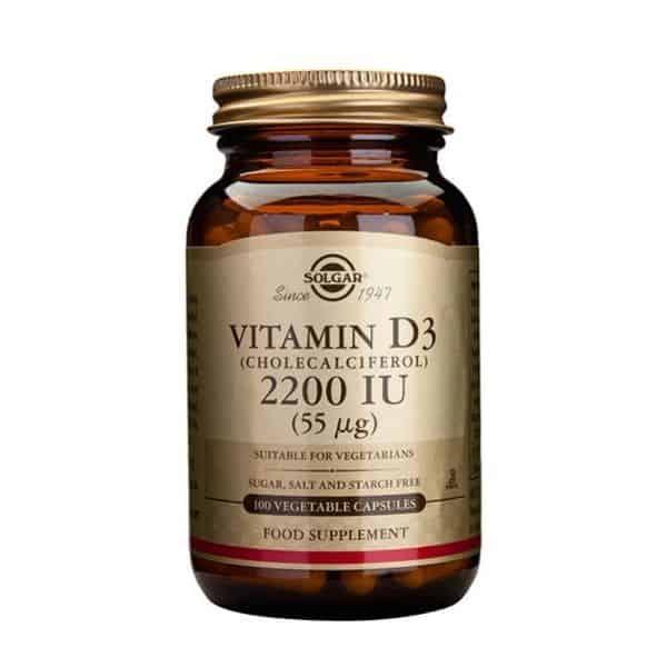 Solgar Vitamin D3 55 mcg 100 kaps