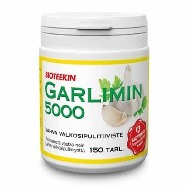 Garlimin 5000 150 tabl - Bioteekki