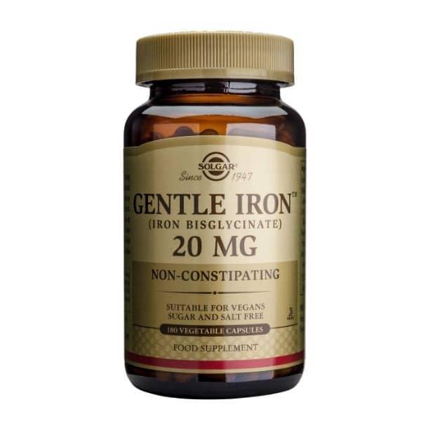 Gentle Iron 20mg 180 kaps - Solgar