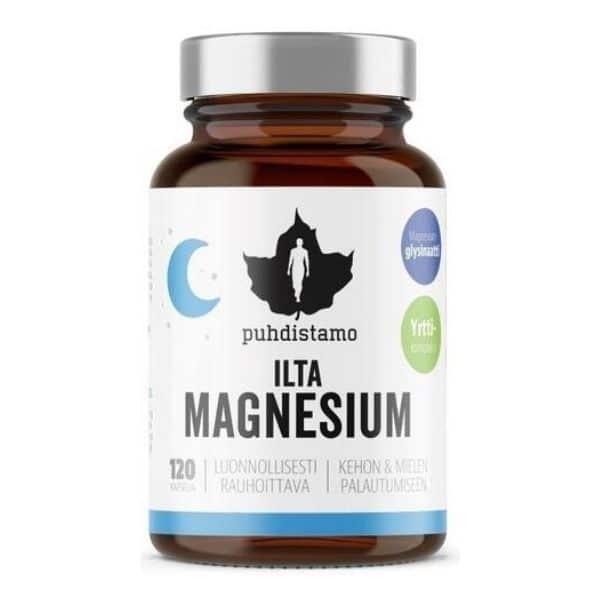 Ilta magnesium 120 kapselia - Puhdistamo