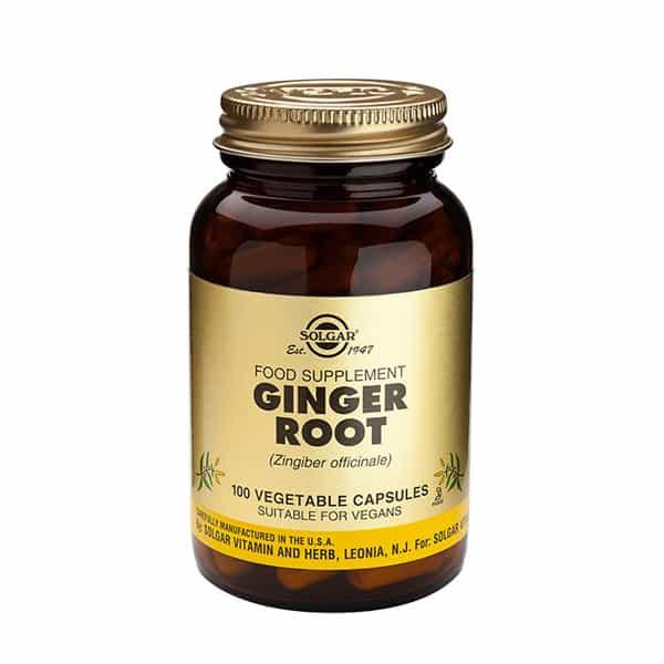 Ginger root 100kaps Solgar