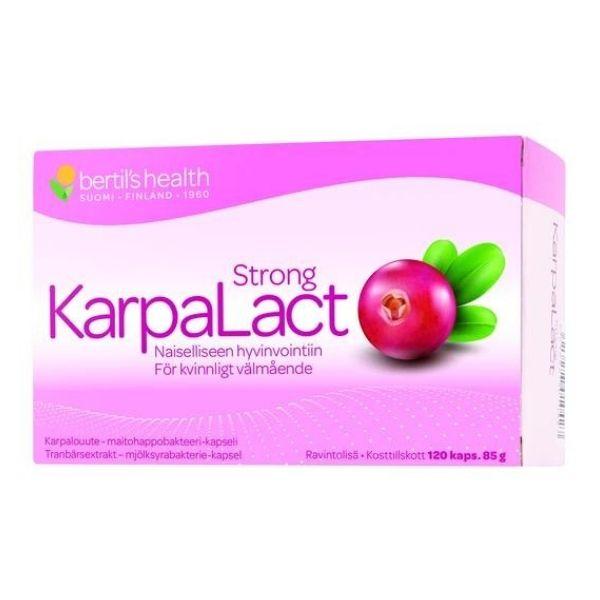 KarpaLact Strong 120 kpl - Bertil`s Health