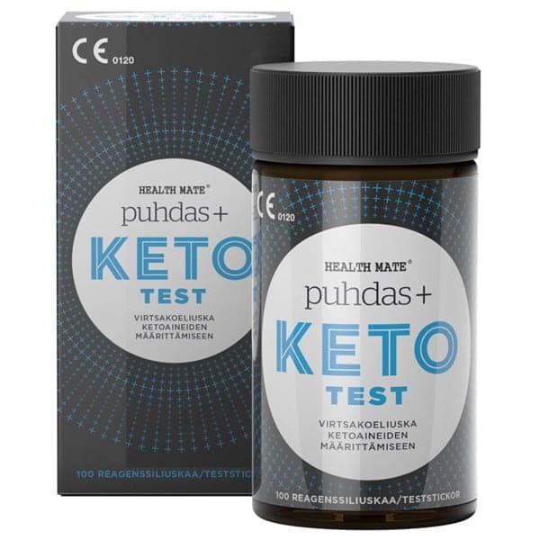 KETO test 100kpl - Puhdas+