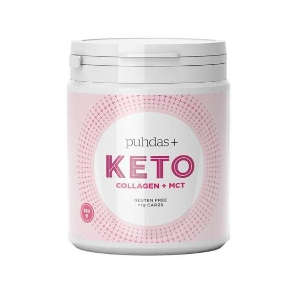 KETO Collagen+MCT 260g - Puhdas+