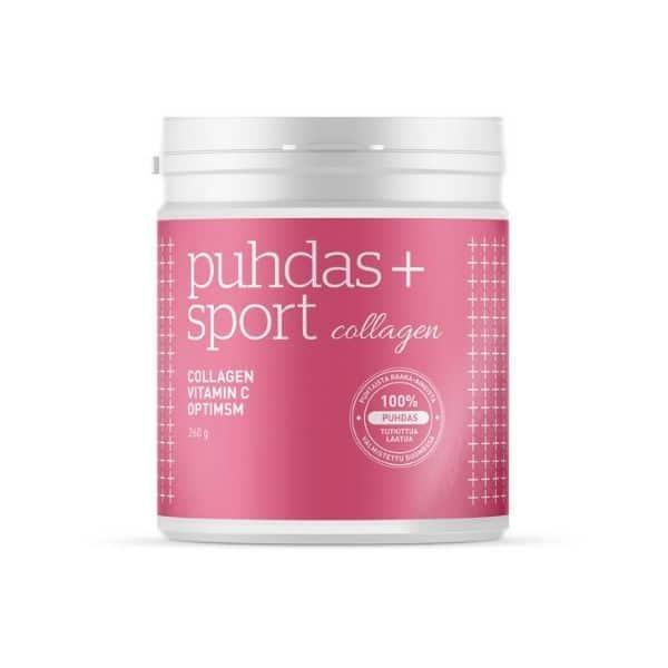 Sport collagen C-vit MSM 260g - Puhdas+
