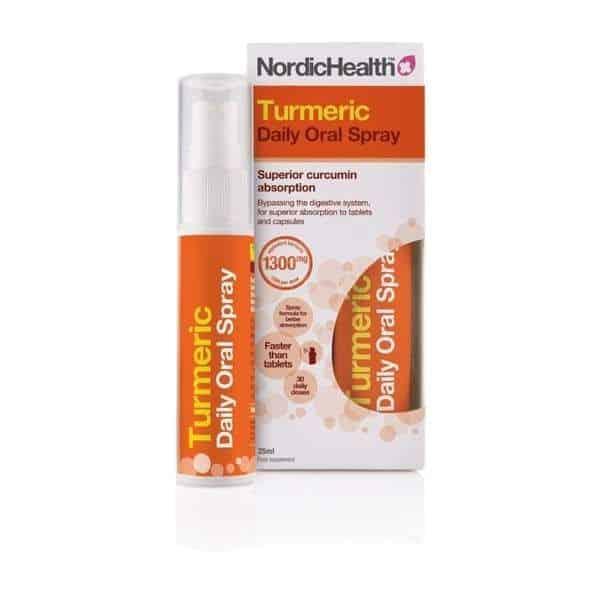Kurkuma suusuihke 25 ml - Nordic Health