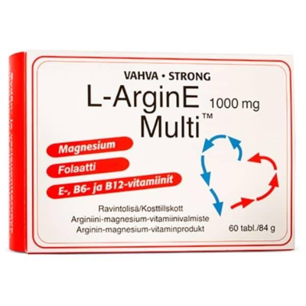 L-Arginine Multi 1000 mg 60 tabl