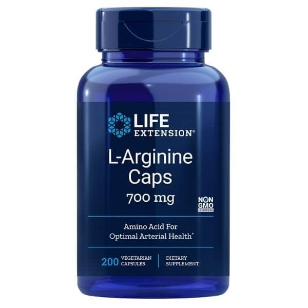 L-Arginine 700mg 200 kaps - Life extension