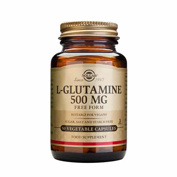 L-glutamiini 500mg 50kaps Solgar