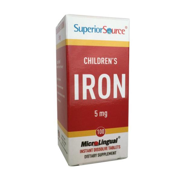 Lasten Rauta (Children`s Iron) 5 mg 100 tbl – Superior Source