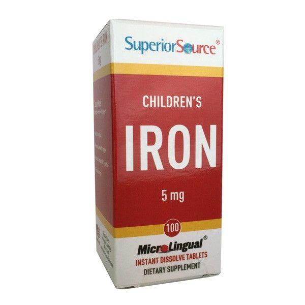 Lasten Rauta (Children`s Iron) 5 mg 100 tbl - Superior Source