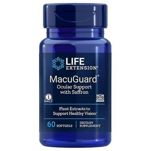 MacuGuard 60 softgels - Life extension