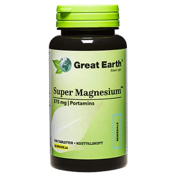 Super magnesium 250mg - Great Earth