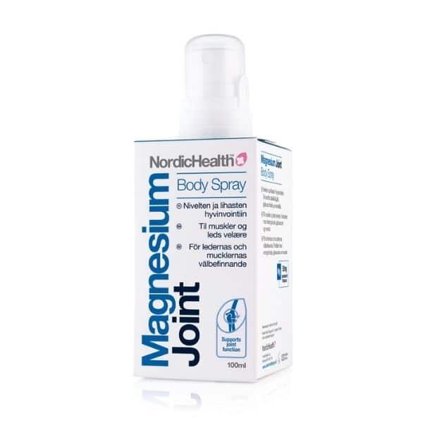 Magnesium Oil kipu, nivel suihke 100ml - Nordic Health