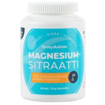 Magnesiumsitraatti 375mg 120 tabl – Terveyskaista