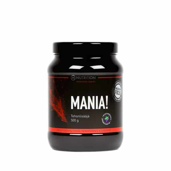 Mania mustaherukka M-Nutrition