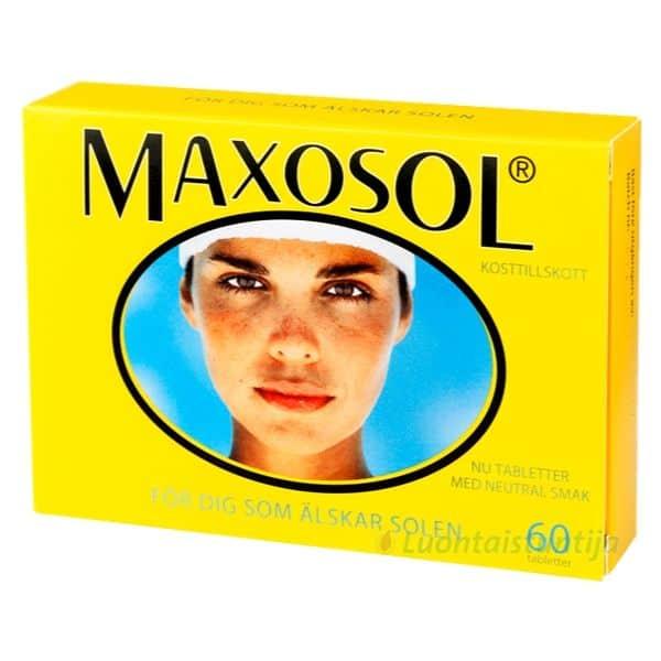 Maxosol aurinkosuoja 60 tbl