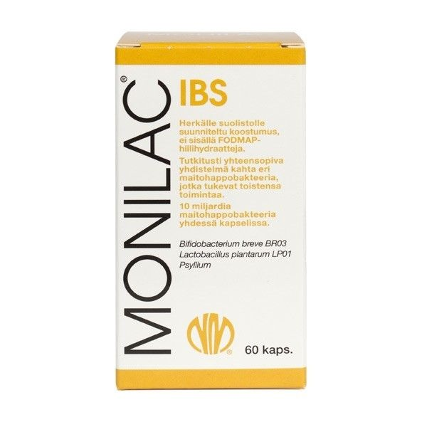 Monilac IBS 60 kaps