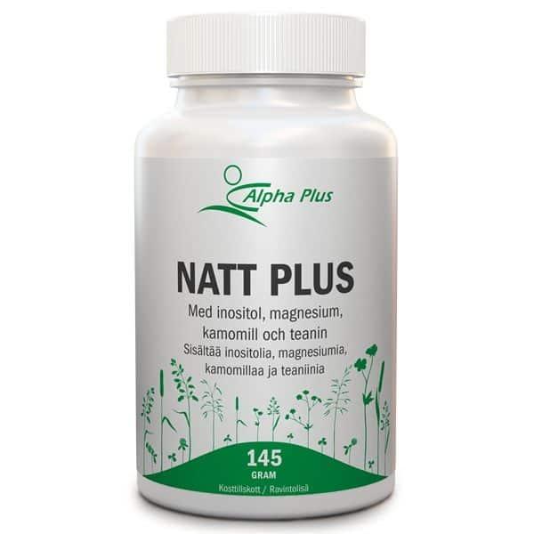 Natt Plus 145g Alpha Plus
