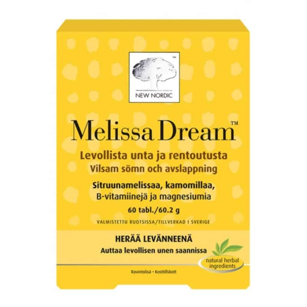 Melissa Dream 120 tabl - New Nordic