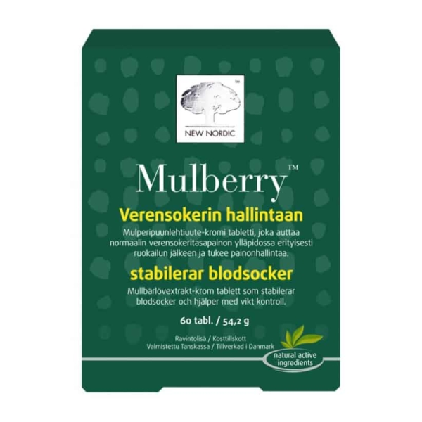 Mulberry 120 tabl - New Nordic