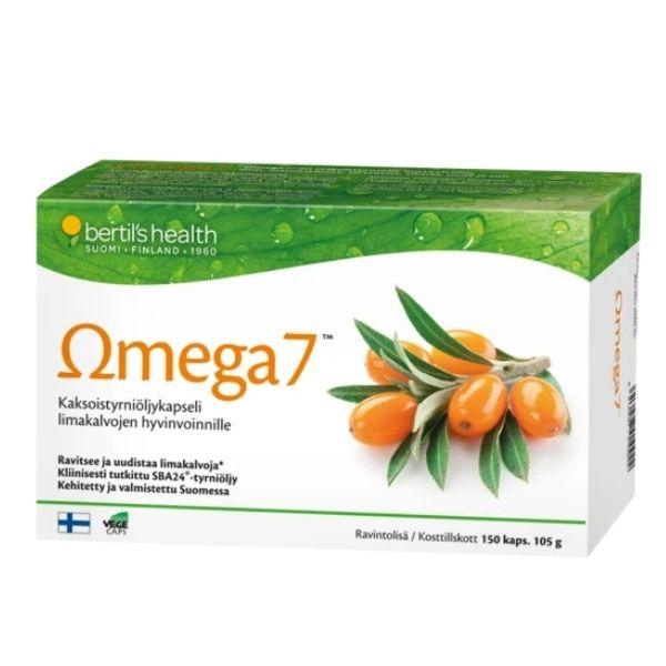 Omega 7 150 kaps - Bertil`s Health
