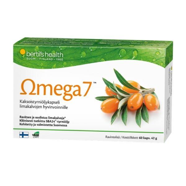 Omega 7 60 kaps - Bertil`s Health