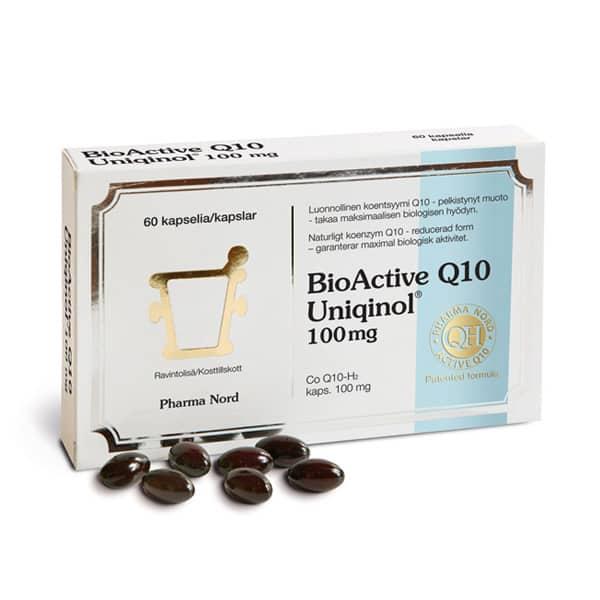 Bioactive Q10 Uniqinol 100 mg 150 kaps - PharmaNord