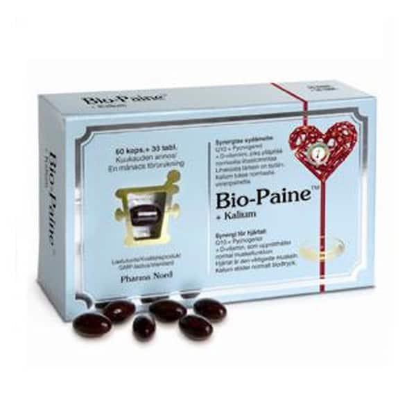 Bio-Paine + kalium 60 kaps+30 tabl - Pharma Nord