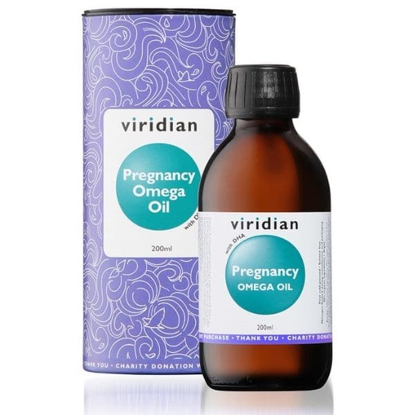 Viridian Pregnancy omega oil 200ml
