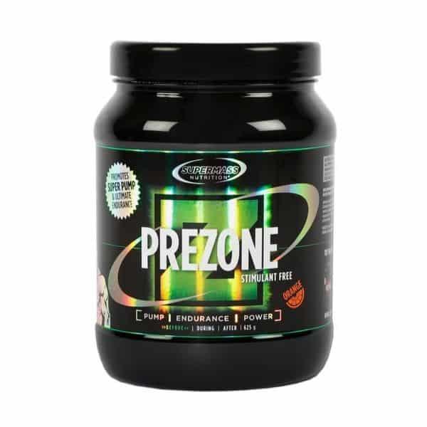 Prezone stimulant free appelsiini 625g
