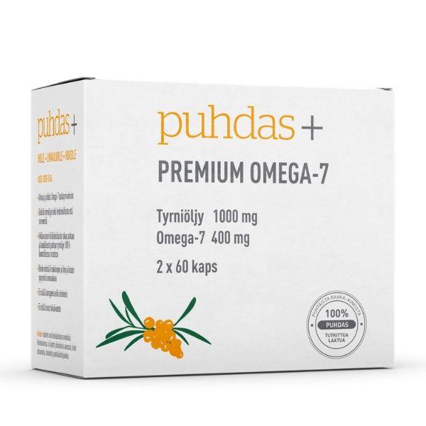 Premium Omega-7 120 kaps - Puhdas+