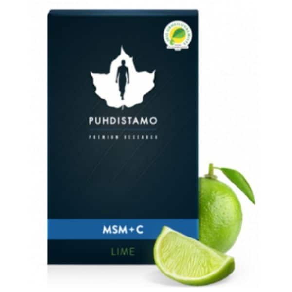 OptiMSM + C Lime 200g Puhdistamo