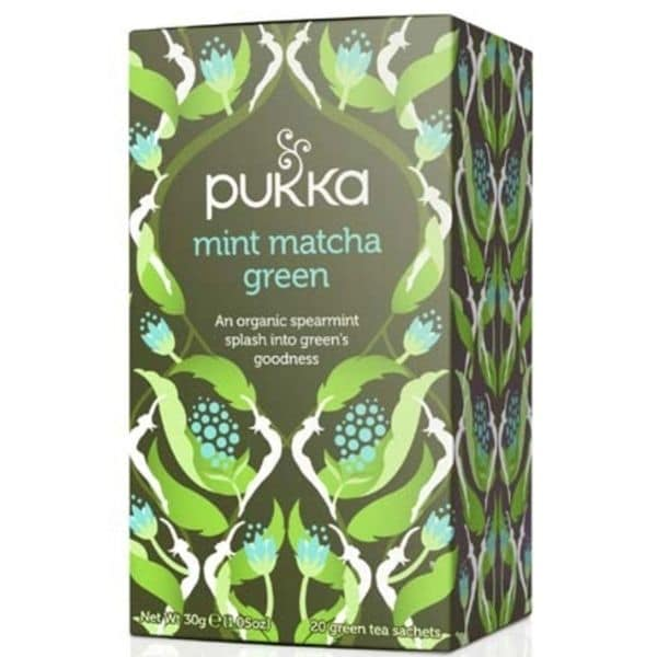 PUKKA Mint matcha Green tee 20 pss