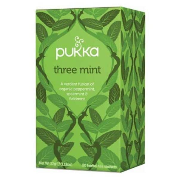 PUKKA three mint, kolmen mintun tee (L) 20 pss - M