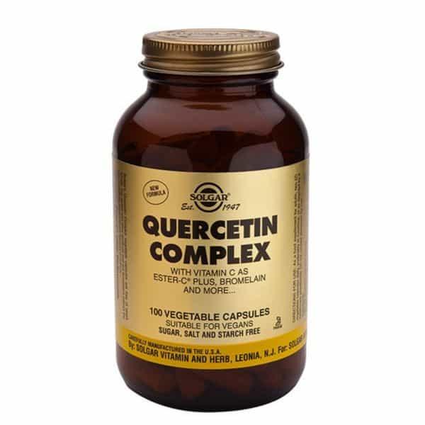 Solgar Quercetin complex + C 50vegetabl.