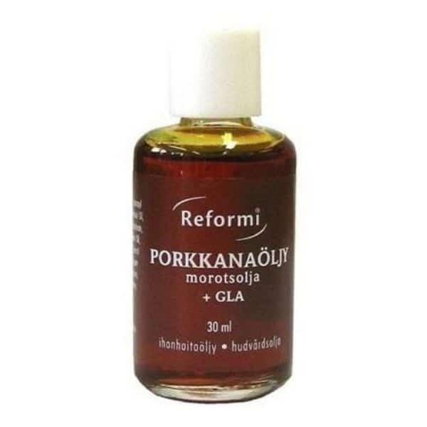 Reformi Porkkanaöljy + GLA 30 ml - Oriola
