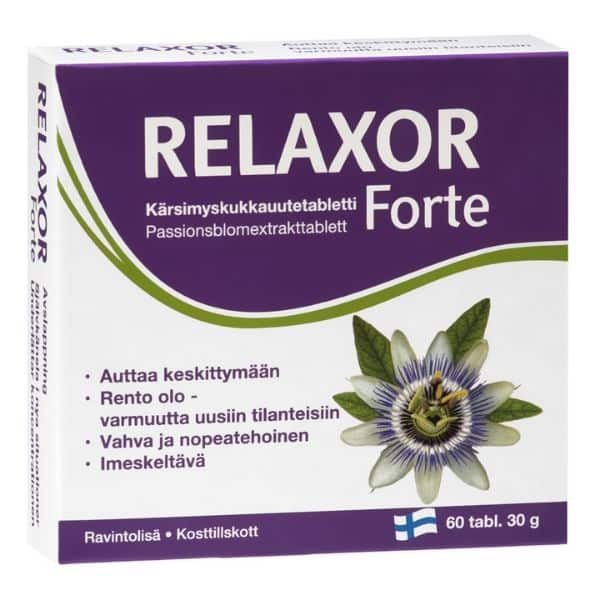 Relaxor forte 60 tablettia - Hankintatukku
