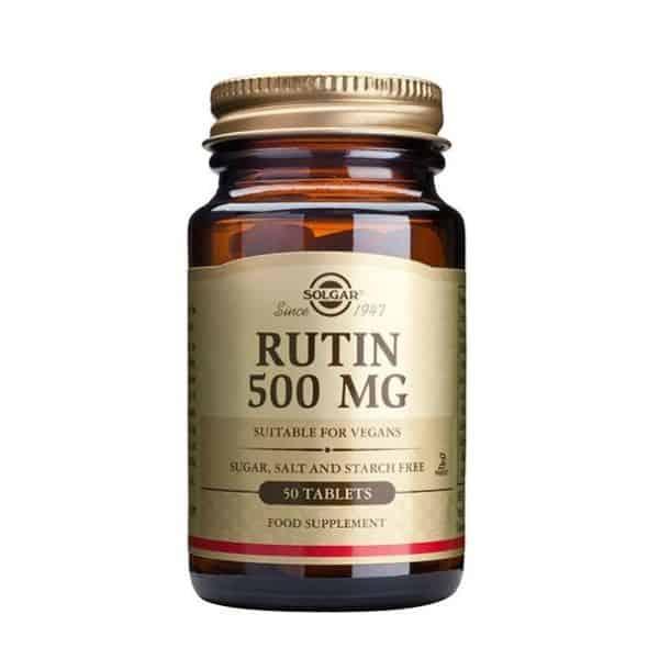 Solgar Rutin 500 mg 100 tabl. - Solgar