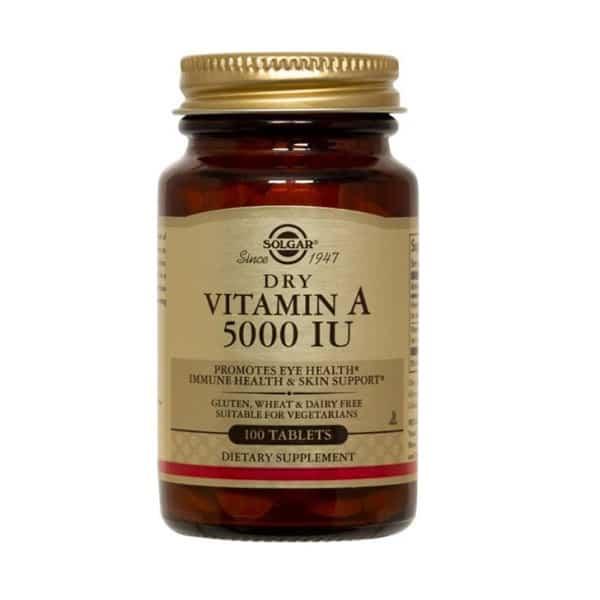 A-vitamiini 5000 IU - Solgar