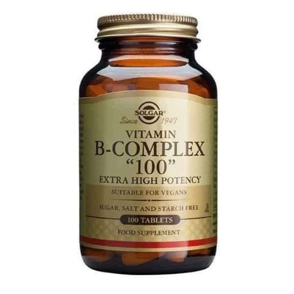vitamin B-complex 100 - 100kaps Solgar